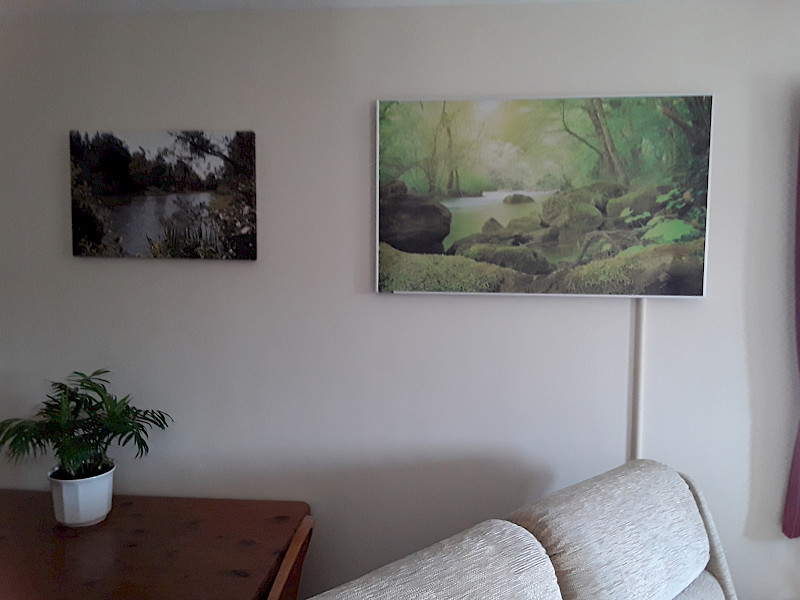 Case Study Calendar- February: Picture Panel in a Retirement Flat