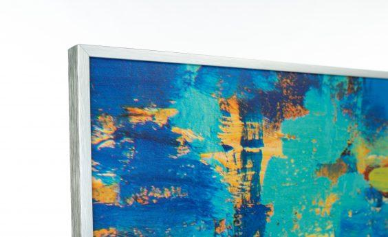 960 Watts Blue Abstract Panel