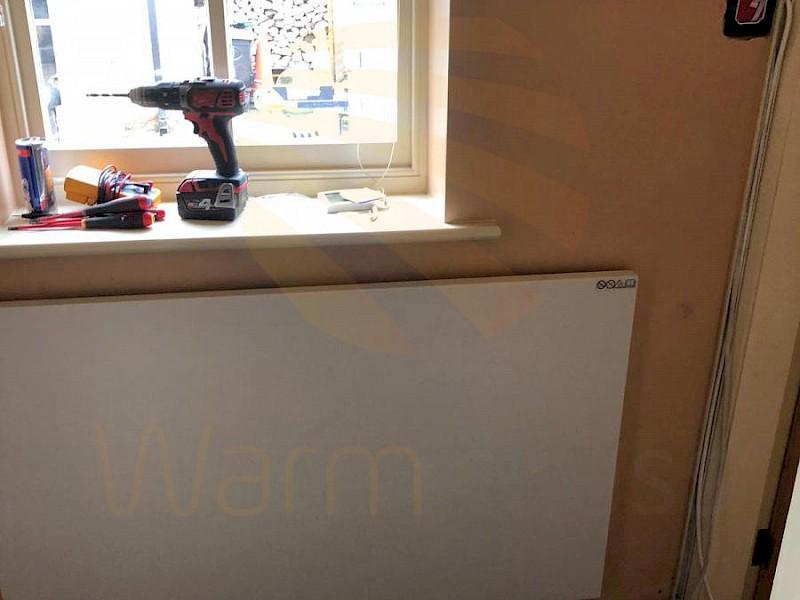 Infrared Heating Panels Installed – Replacing Old Storage Radiators
