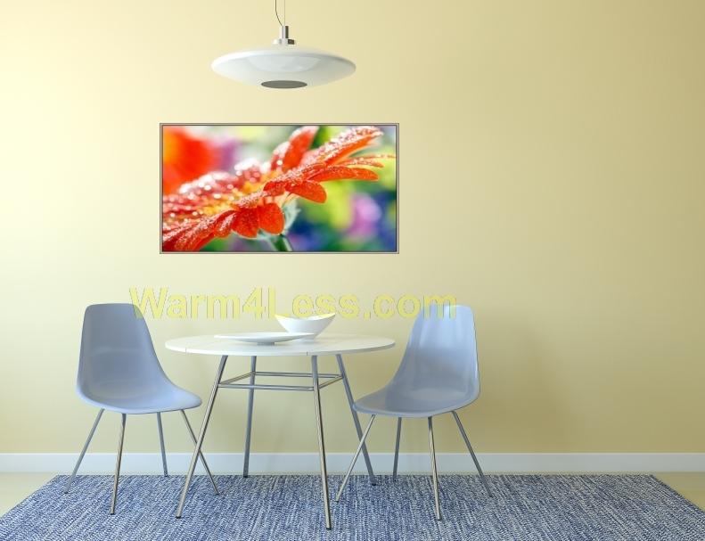 600 Watts Orange Flower Panel