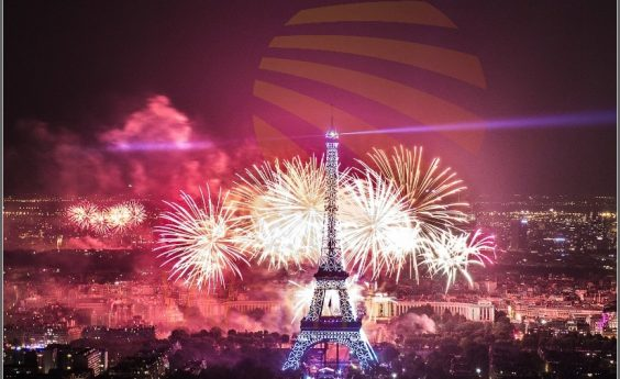 960 Watts Eiffel Tower Fireworks Panel