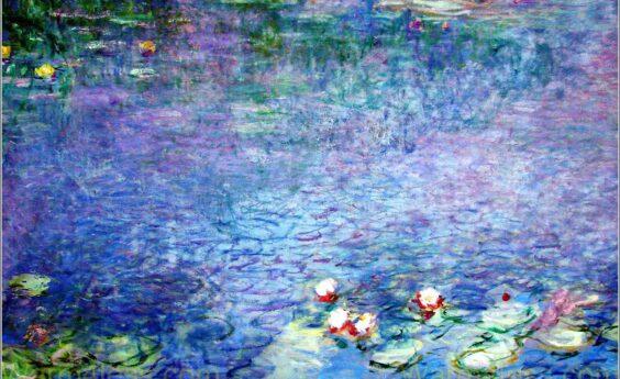 960 Watts Water Lillies Panel